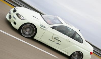 BMW napędzane gazem gnało z prędkością 318,1 km/h
