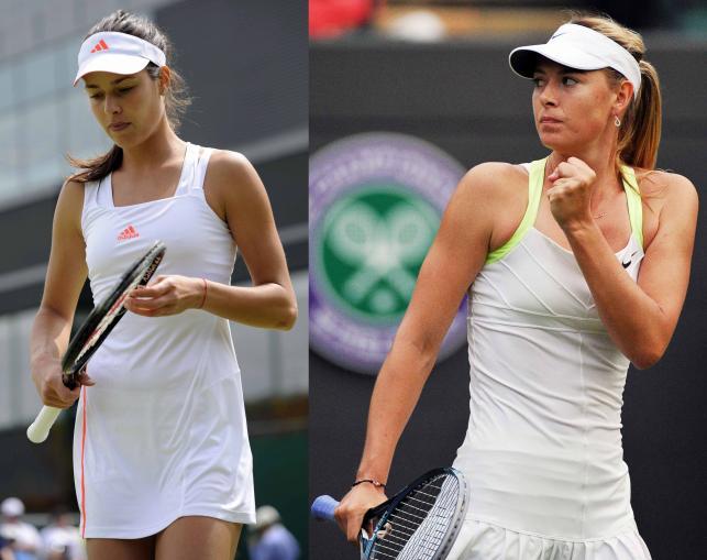 Ana Ivanović czy Maria Szarapowa - która ładniejsza?