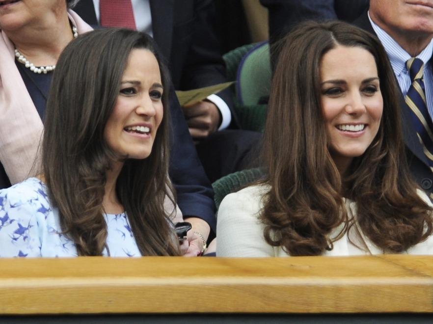 Księżna Catherine i Pippa Middleton