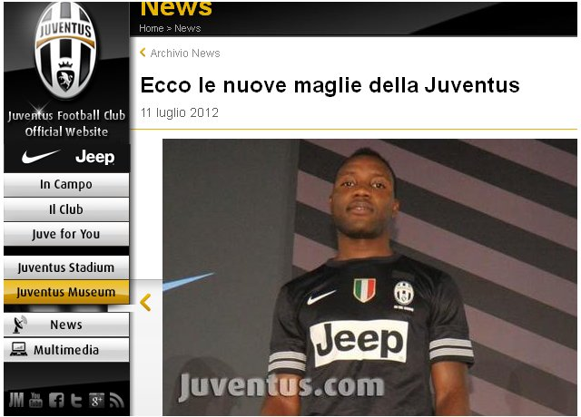 Kwadwo Asamoah;Juventus Turyn;koszulka