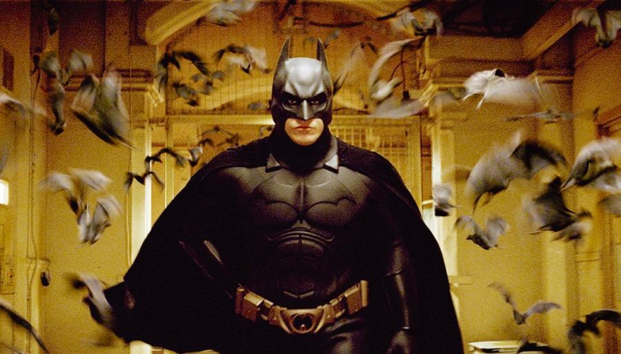 "Christian Bale – ""Batman początek"""