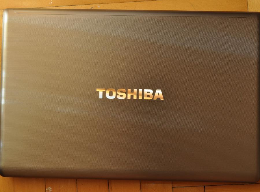 Aluminiowa obudowa Toshiby