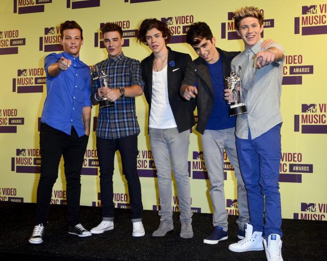 One Direction – zdobywcy trzech statuetek MTV