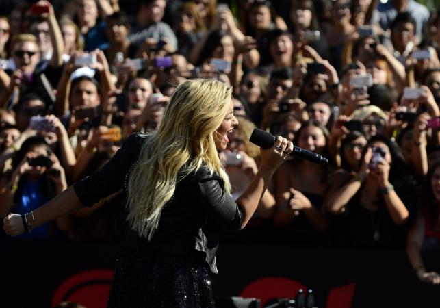 Demi Lovato na MTV Video Music Awards 2012