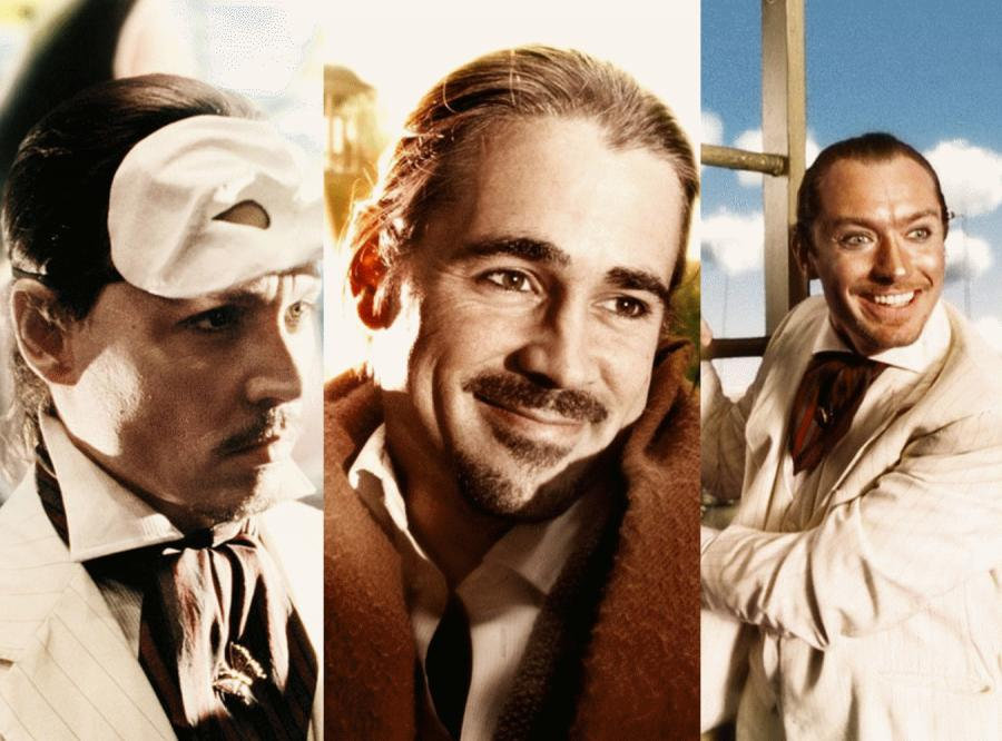Jonny Depp, Colin Farrell, Jude Law w filmie Terry\'ego Gilliama \
