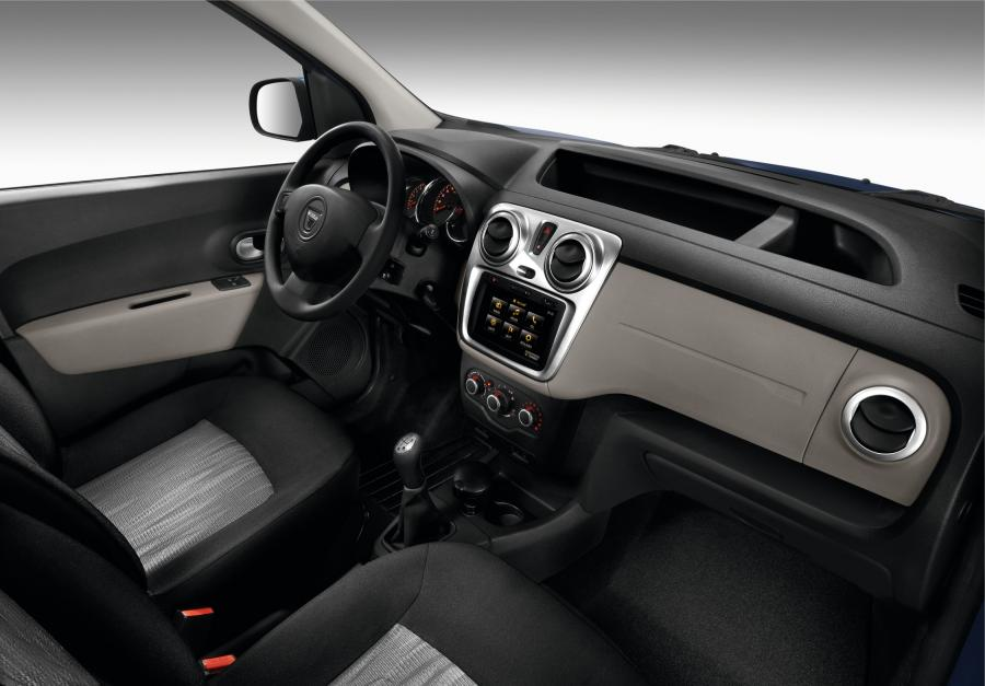 Dacia dokker- wnętrze