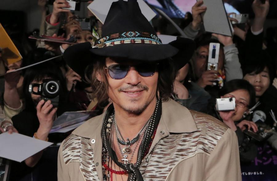 Johnny Depp będzie gwiazdą \