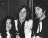 John Lennon, Paul McCartney i Yoko Ono (1968)