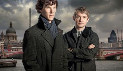 """""""Sherlock"""" na dużym ekranie"""