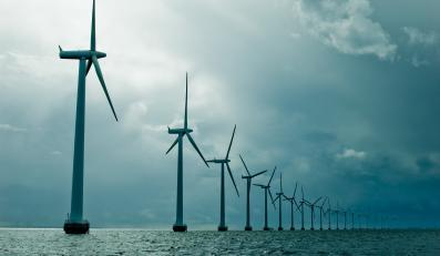 Farma wiatrowa - zdjęcie ilustracyjne