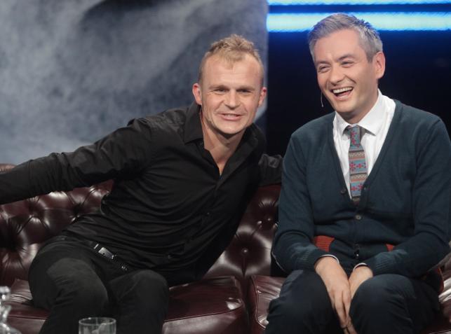 Robert Biedroń i Piotr Rogucki u Kuby Wojewódzkiego