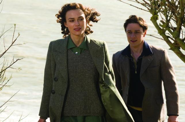 """Keira Knightley i James McAvoy w filmie """"Pokuta"""""""