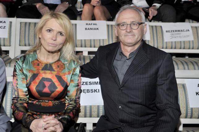 """Anna Jurksztowicz i Krzesimir Dębski na gali """"Złote Kaczki 2012"""""""