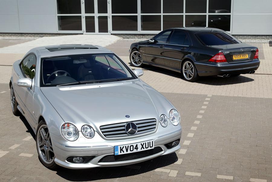 Mercedes CL produkowany w latach 2000-2007