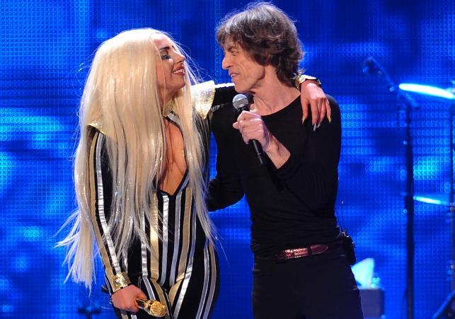 Lady GaGa i Mick Jagger