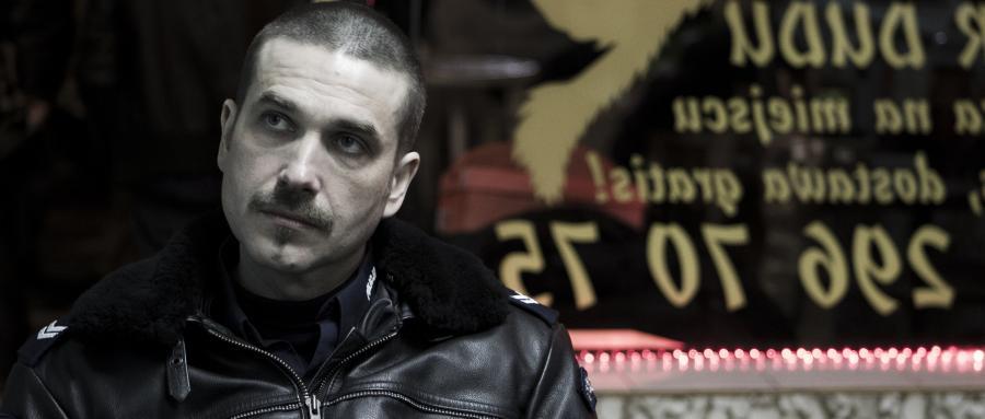 """Marcin Dorociński w filmie """"Drogówka"""""""