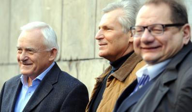 Leszek Miller, Aleksander Kwaśniewski i Ryszard Kalisz
