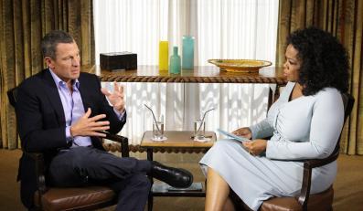 Lance Armstrong i Oprah Winfrey