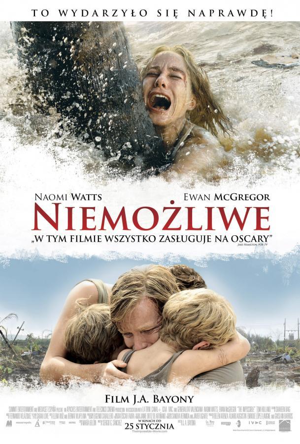 """""""Niemożliwe"""" w kinach od 25 stycznia"""