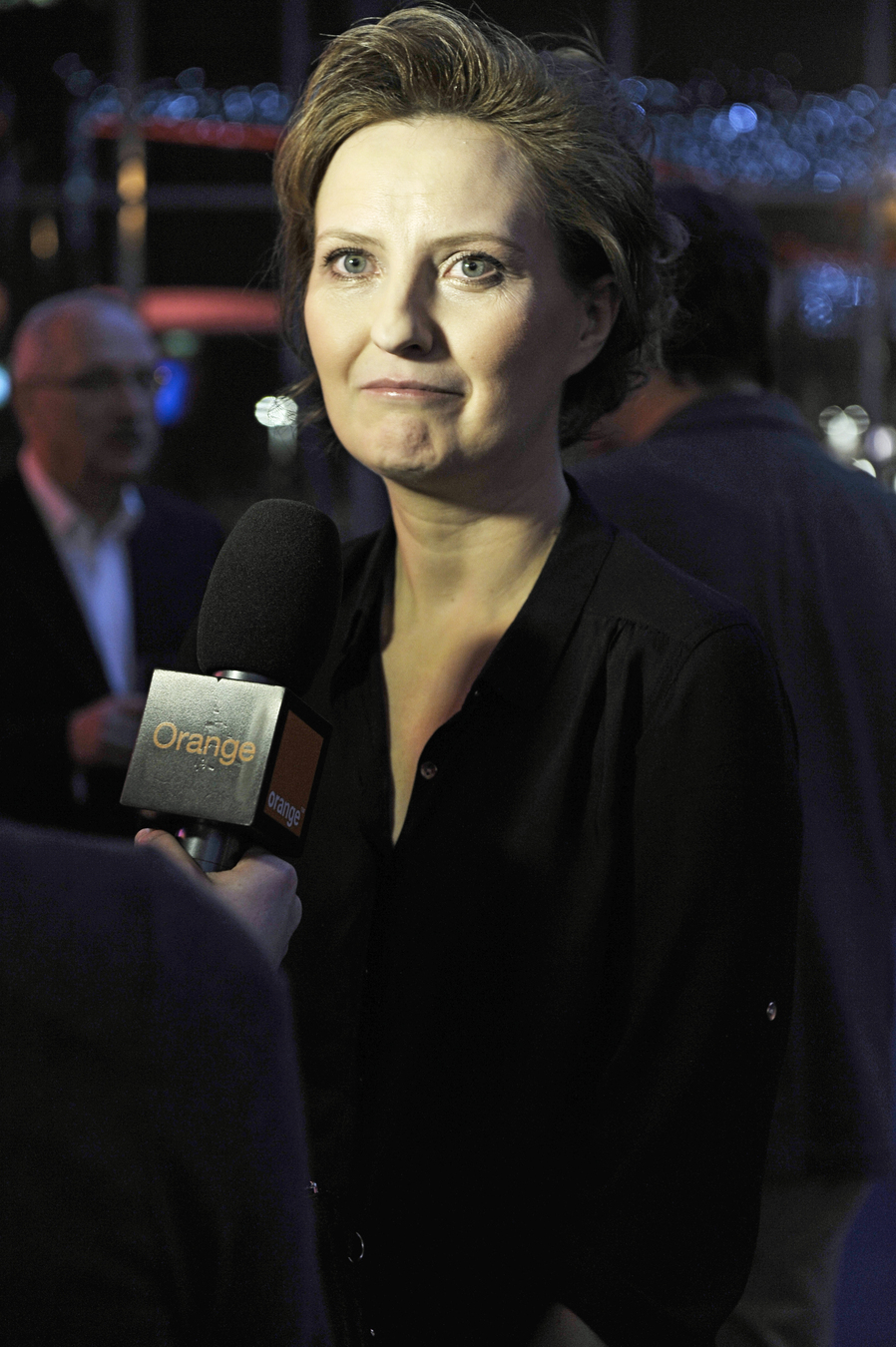 """Izabela Kuna na premierze """"Drogówki"""""""