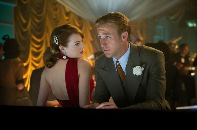 """Emma Stone i Ryan Gosling w filmie """"Gangster Squad: pogromcy mafii"""""""