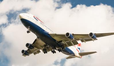 British Airways Heathrow lotnisko samolot pasażerski
