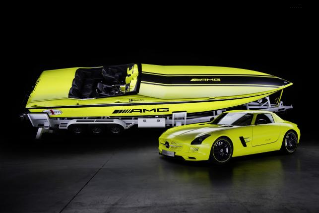 Cigarette AMG Electric Drive Concept i Mercedes-Benz SLS AMG E-Cell