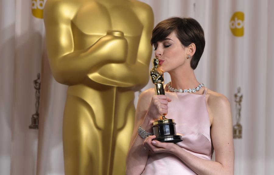 Anne Hathaway –najlepsza aktorka drugoplanowa