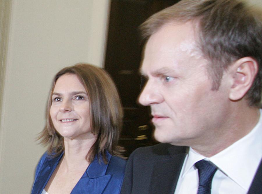 Małgorzata Tusk zwleka z przeprowadzką do stolicy