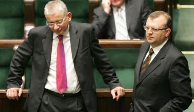 Dorn, Ujazdowski i Zalewski przesiądą się na tyły ław sejmowych