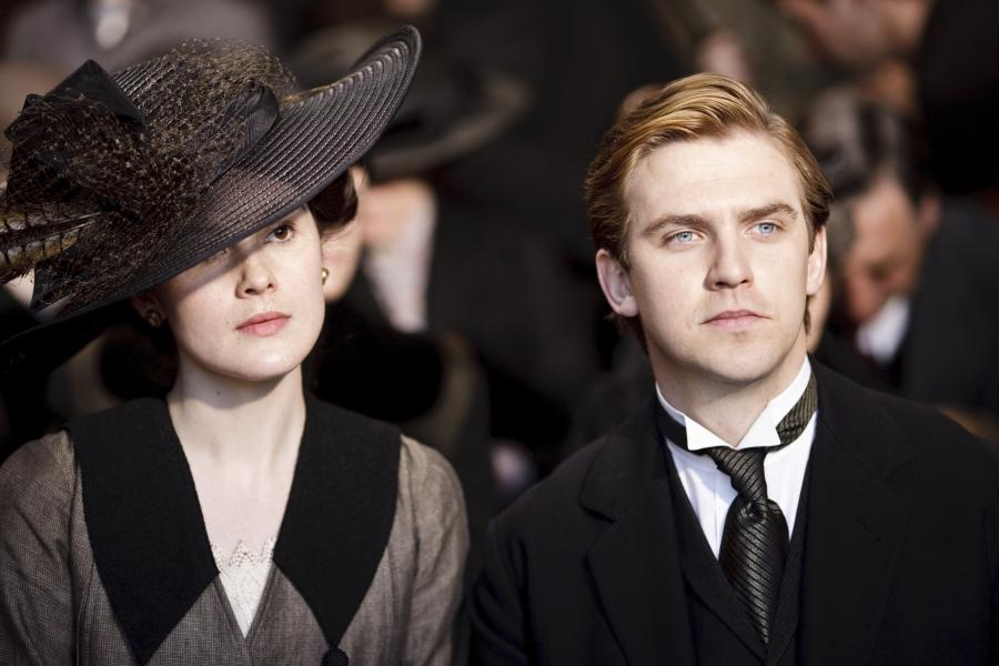 "10. Matthew Crawley, ""Downton Abbey"" (na ekranie Dan Stevens)"