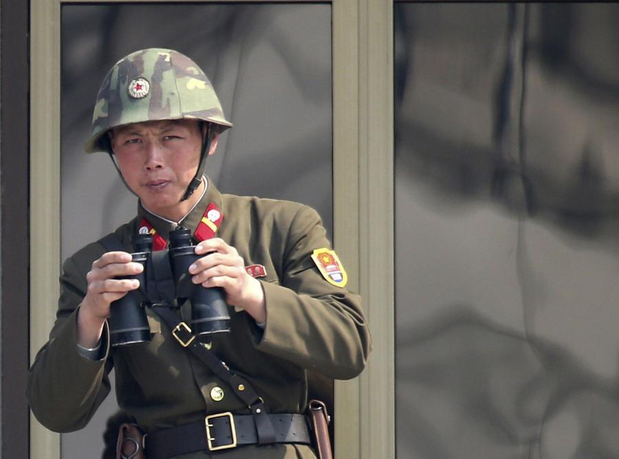 Północnokoreański żołnierz