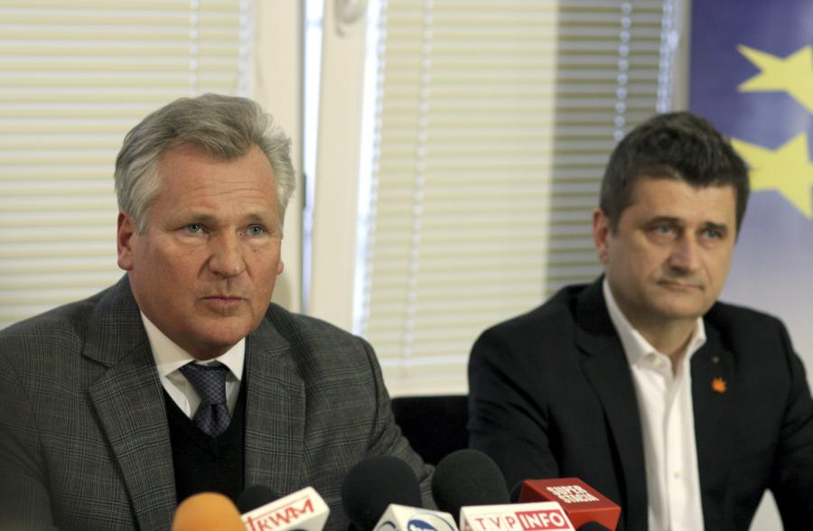 Kwaśniewski i Palikot