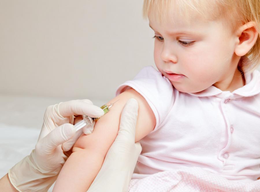 Dziecko ma szczepienie