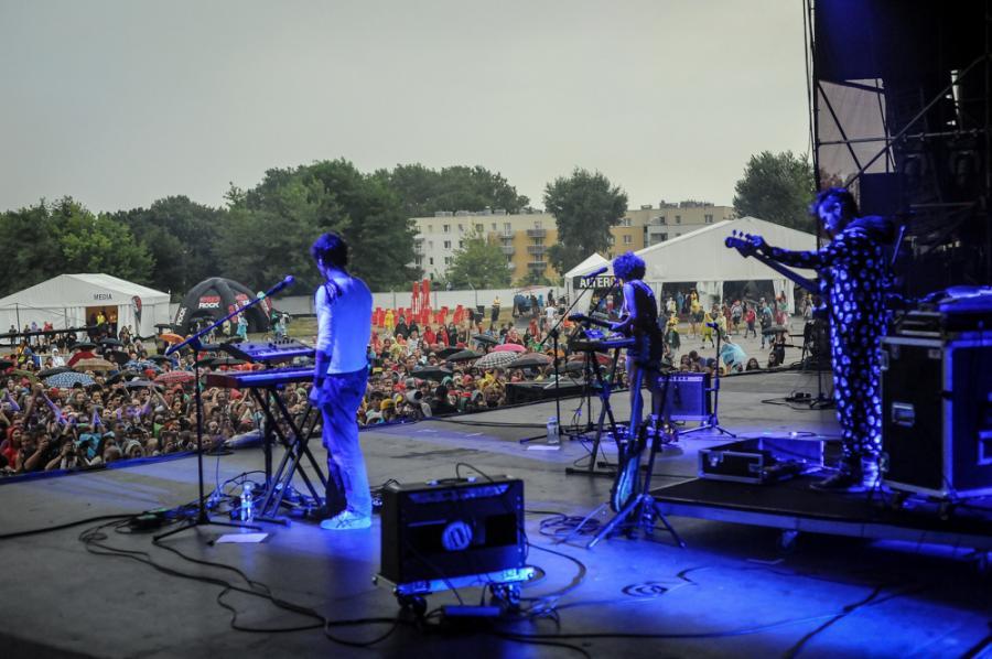 Monika Brodka na Coke Live Music Festival 2013
