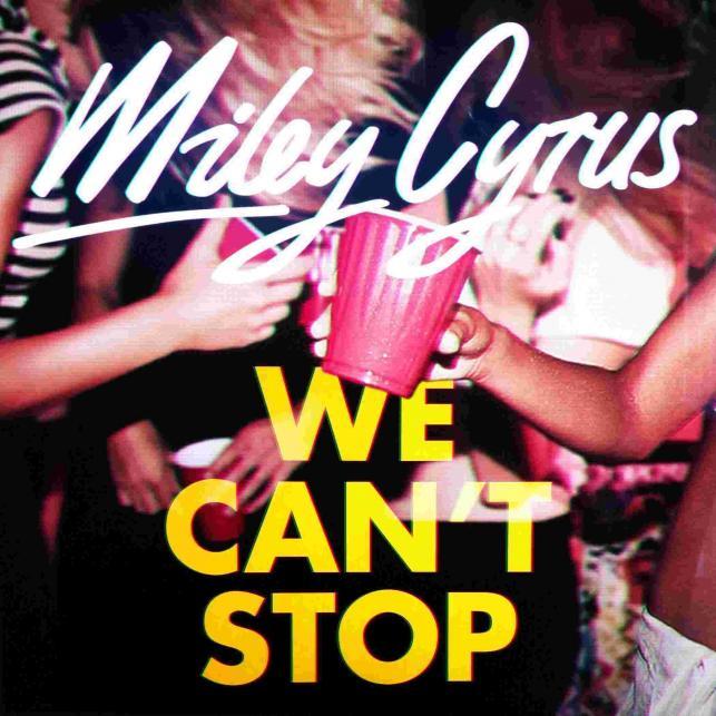"""Imprezowy singel """"We Can't Stop"""" zapowiada nowy album """"Bangerz"""""""