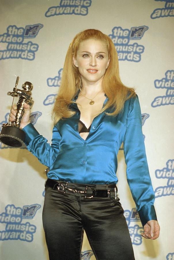 Madonna nagrodzona MTV Video Music Award w 1995 roku