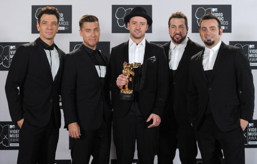 Justin Timberlake po latach z kolegami z \'N Sync
