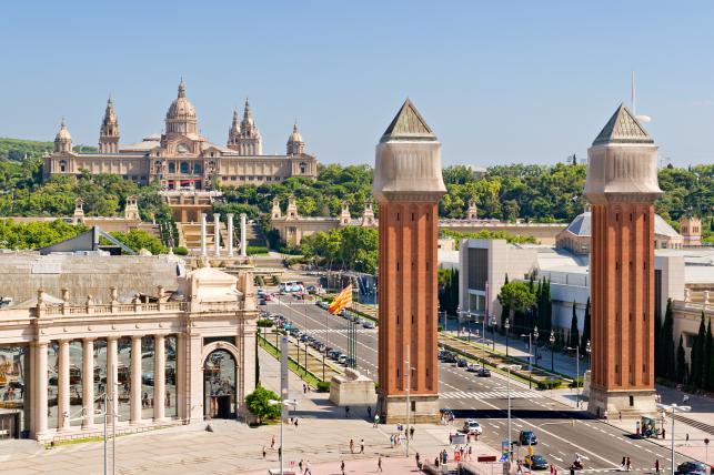 Barcelona - Plac Hiszpański