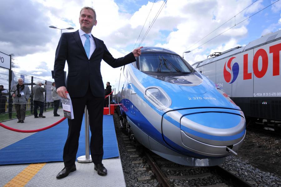 Prezentacja pociągu Pendolino