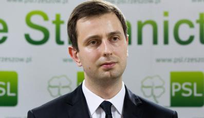 Minister Pracy i Polityki Społecznej Władysław Kosiniak-Kamysz