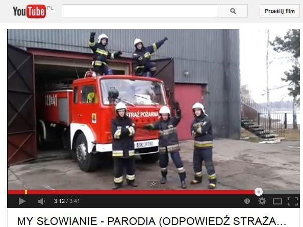 My strażacy