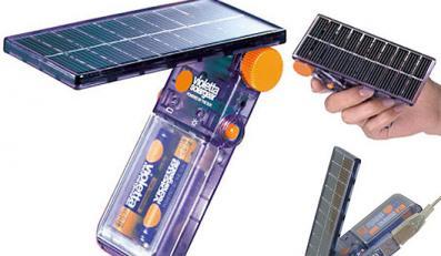 Ładowarka baterii energię czerpie ze słońca