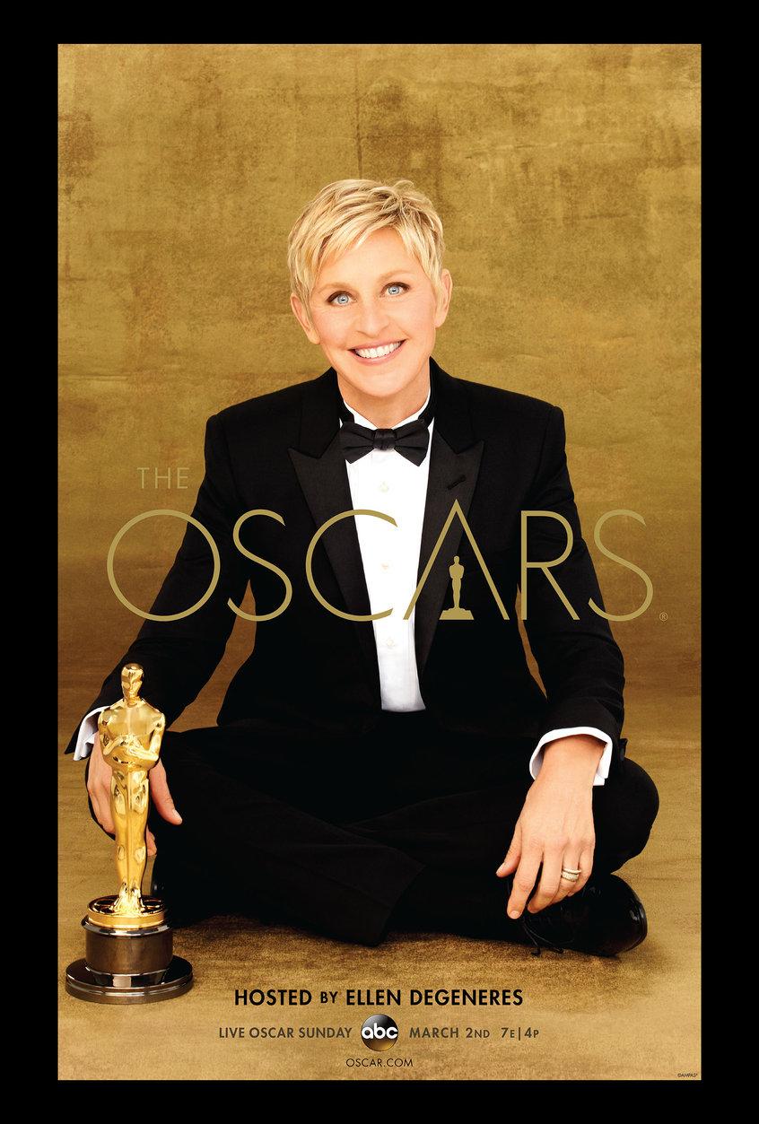Ellen DeGeneres na oscarowym plakacie