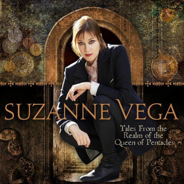 "Suzanne Vega na okładce albumu ""Tales from the Realm of the Queen of Pentacle"""