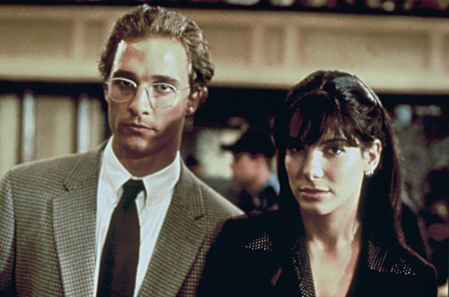 """Matthew McConaughey i Sandra Bullock w filmie """"Czas zabijania"""""""