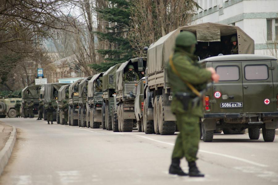 Rosja wzmacnia siły na Krymie