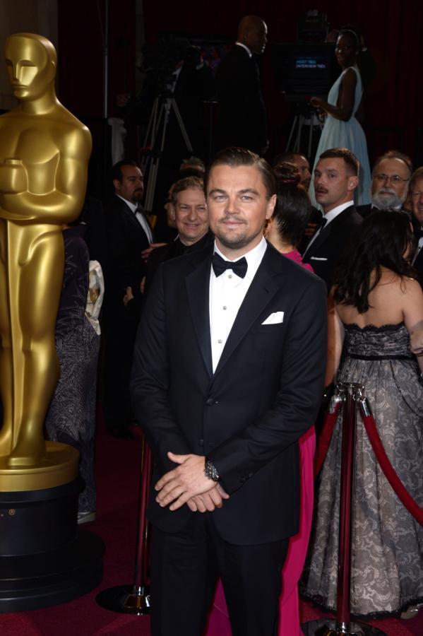 Leonardo DiCaprio na gali Oscarów 2014