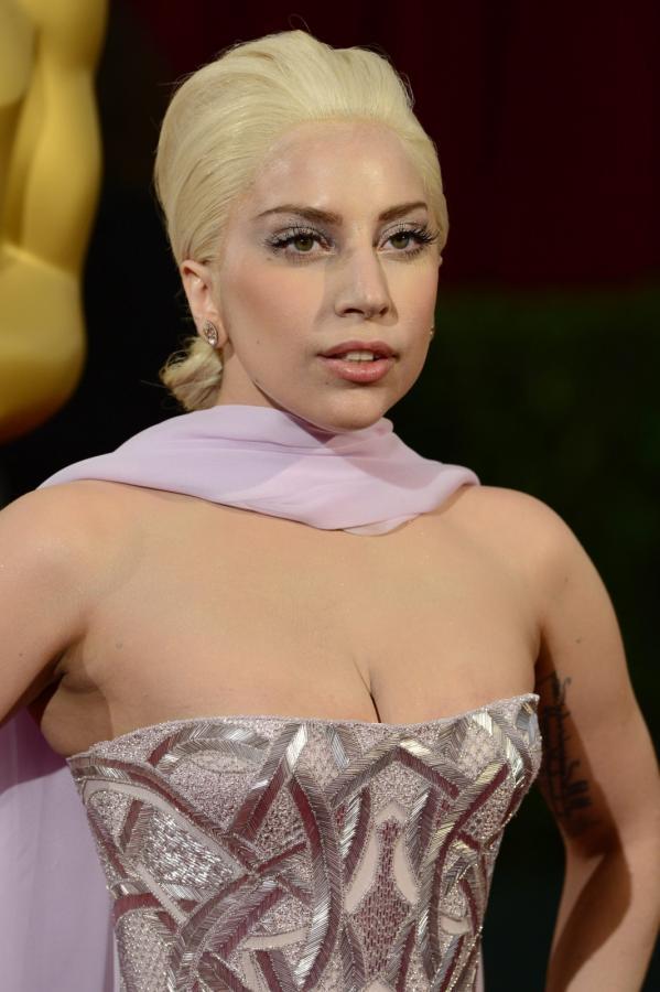 Lady Gaga na gali Oscarów 2014