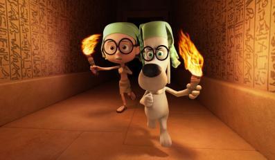 Ameryka podróżuje w czasie z Panem Peabodym i Shermanem